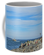 A Day At The Beach 2 Coffee Mug