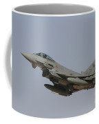 A Eurofighter Typhoon Of The Italian Coffee Mug