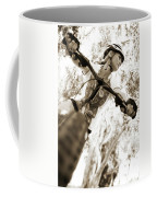 A Female Mountain Biker Coffee Mug