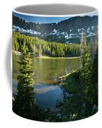 A Fly Fisherman Fishes A High Alpine Coffee Mug