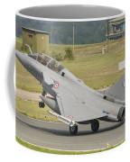 A French Air Force Rafale Jet Coffee Mug