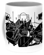 A Guy Talks To Another Guy In A Room Of Seven Coffee Mug