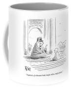 A Journey Of A Thousand Miles Begins Coffee Mug
