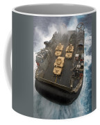 A Landing Craft Air Cushion Exits Coffee Mug