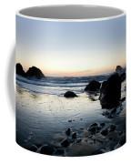 A Landscape Of Rocks On The Coast Coffee Mug
