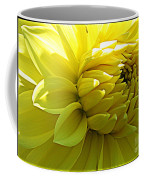 Golden Dahlia Coffee Mug