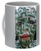A Maze Ing Face 2 Coffee Mug