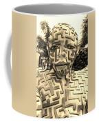 1 A Maze Ing Man Sepia Coffee Mug