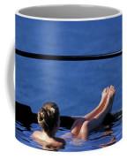 A Nude Woman In A Hot Spring Coffee Mug