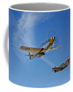 A P-51d Mustang Kimberly Kaye Coffee Mug