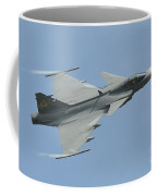 A Saab Jas 39 Gripen C Of The Royal Coffee Mug