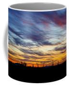 A Silhouette Sunset  Coffee Mug