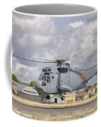 A Spanish Navy Sh-3d Helicopter Coffee Mug