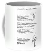 A Terrible Rhyme Coffee Mug