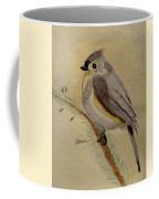 A Tufted Titmouse Coffee Mug
