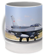 A Turkish Air Force F-16d Block50+ Coffee Mug