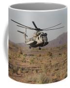 A U.s. Marine Corps Ch-53 Sea Stallion Coffee Mug