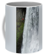 A Woman Trail Running Coffee Mug