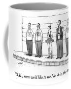 A Woman Wearing A Tutu Is Seen Standing Coffee Mug