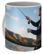 A Young Man In His Early Thirties  Fly Coffee Mug