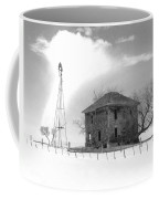 Abandoned Farmhouse Coffee Mug