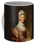 Abigail Smith Adams By Gilbert Stuart Coffee Mug