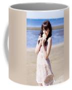 Adorable Seaside Girl Coffee Mug
