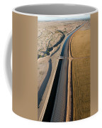 Aerial Border Patrol On The U.s.mexico Coffee Mug