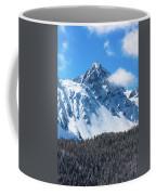 Aerial Of Mount Sneffels With Snow Coffee Mug