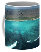 Aerial Of Ningaloo Reef And Cape Range Coffee Mug