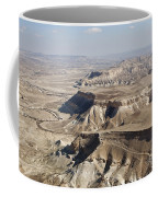 1-aerial Photography Of The Negev  Coffee Mug