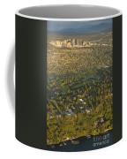Aerial View Of Bellevue Skyline Coffee Mug