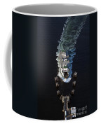 Aerial View Of Passenger Ferry Boat Going To Southworth Puget So Coffee Mug