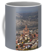 Aerial View Of San Miguel De Allende Coffee Mug