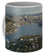 Aerial View Of Seattle Coffee Mug