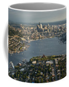 Aerial View Of Seattle Coffee Mug