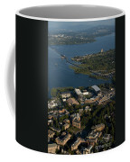 Aerial View Of The New Husky Stadium Coffee Mug