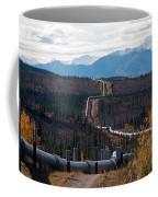 Alaska Oil Pipeline Coffee Mug