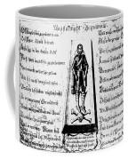 Albrecht Von Wallenstein (1583-1634) Coffee Mug
