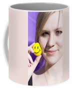 All Smiling Woman Coffee Mug