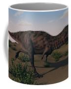 Alluring Majungasaurus In Swamp Coffee Mug