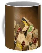Alphabet Blocks Coffee Mug