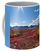 Alpine Landscape In Fall Coffee Mug