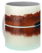 Amber Autumn Lake Coffee Mug