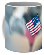 American Flag Coffee Mug by Alex Grichenko