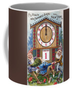 American New Years Card Coffee Mug