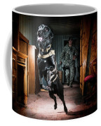 An Air Force Security Forces K-9 Coffee Mug