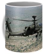 An Apache Ah64d Helicopter Coffee Mug