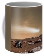 An Artists Depiction Of The Close Pass Coffee Mug by Marc Ward