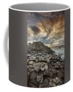 An Evening View Of The Giants Causeway Coffee Mug